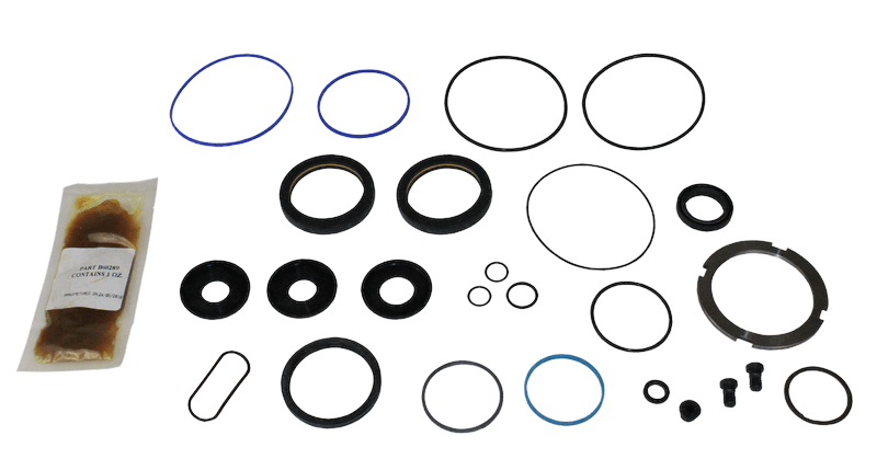 Thp60 power steering gear box master seal kit s s p n s for Ross hydraulic motor seal kit